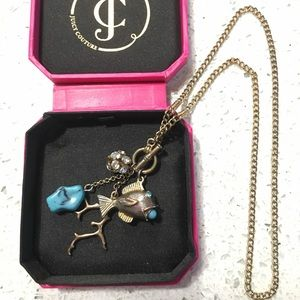 "Retired JUICY COUTURE ""by the sea"" necklace!"